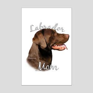 Lab Mom2 Mini Poster Print