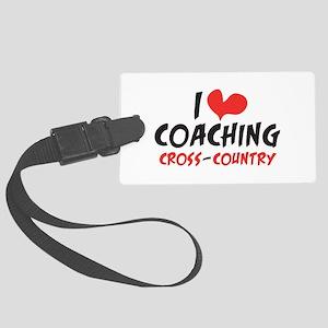 I heart Coaching C-C Luggage Tag
