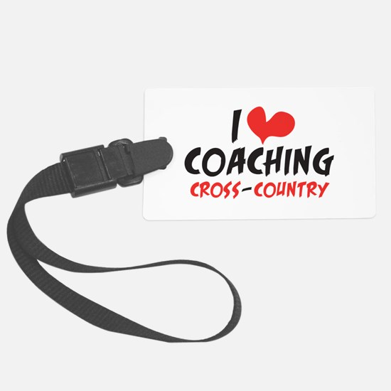 I heart Coaching C-C Luggage Tag