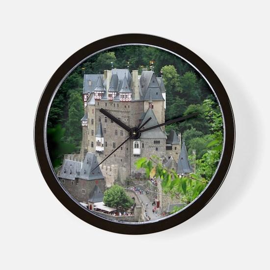 Burg Eltz,Germany Wall Clock