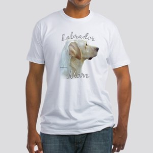 Lab Mom2 Fitted T-Shirt