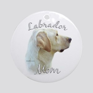 Lab Mom2 Ornament (Round)