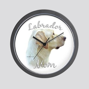 Lab Mom2 Wall Clock