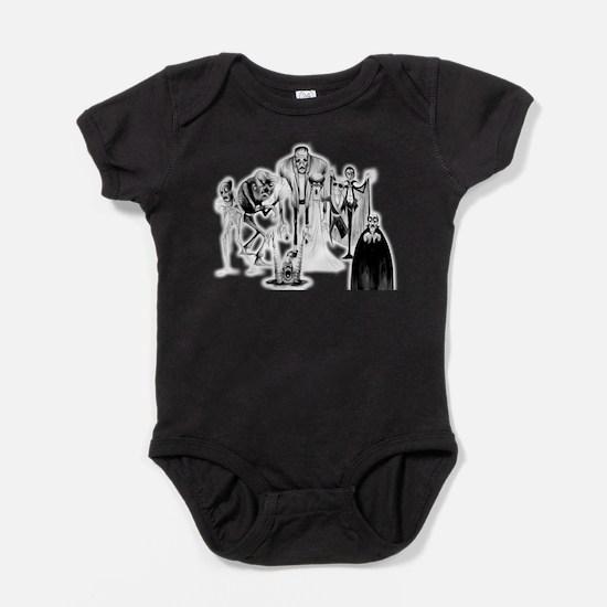 Cute Frankenstein Baby Bodysuit