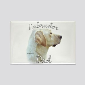 Lab Dad2 Rectangle Magnet