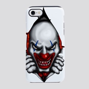 scary clown inside iPhone 8/7 Tough Case