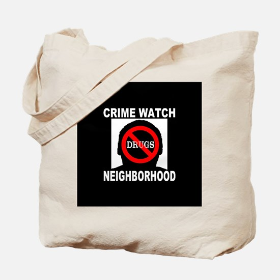 Crime Watch Neighborhood No D Tote Bag
