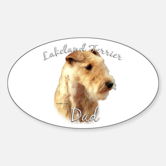 Lakeland Dad2 Oval Decal