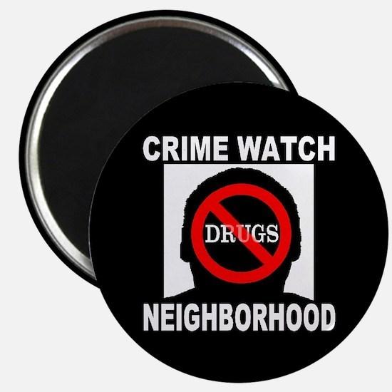 Crime Watch Neighborhood No D Magnet