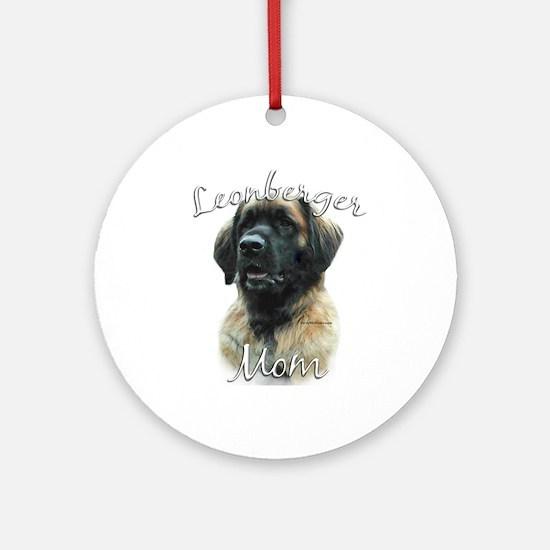 Leonberger Mom2 Ornament (Round)