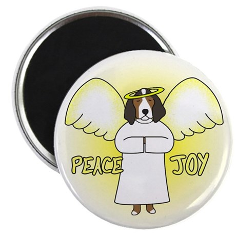 Peace Joy TW Coonhound Christmas Magnet
