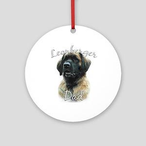 Leonberger Dad2 Ornament (Round)