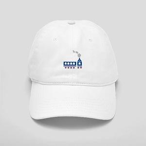 Blue Train Baseball Cap