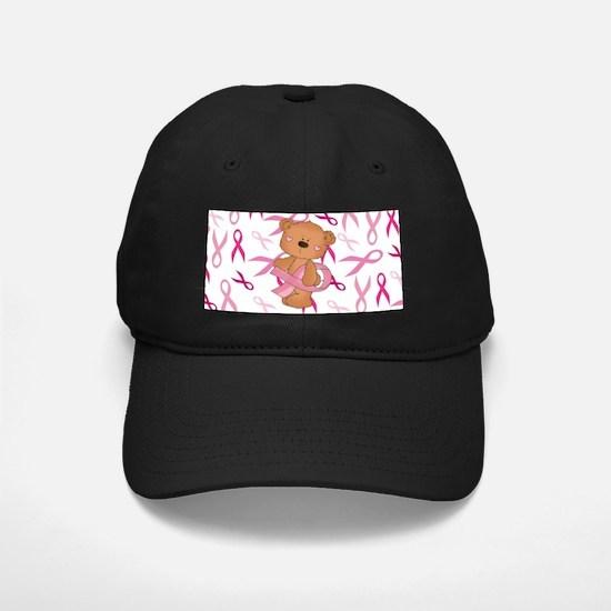 Breast Cancer Awareness Bear Baseball Hat