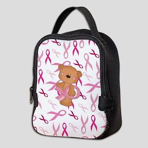 Breast Cancer Awareness Bear Neoprene Lunch Bag