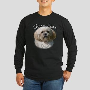 Lhasa Apso Dad2 Long Sleeve Dark T-Shirt