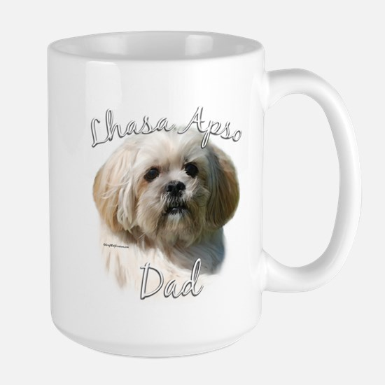 Lhasa Apso Dad2 Large Mug