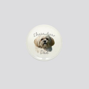 Lhasa Apso Dad2 Mini Button