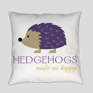 Happy Hedgehogs Everyday Pillow