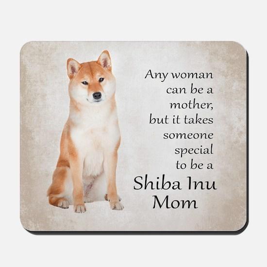Shiba Inu Mom Mousepad