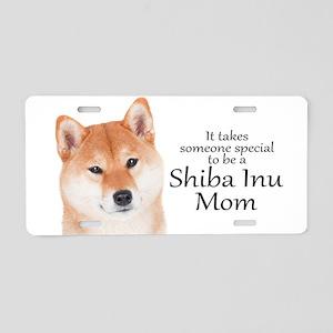 Shiba Inu Mom Aluminum License Plate