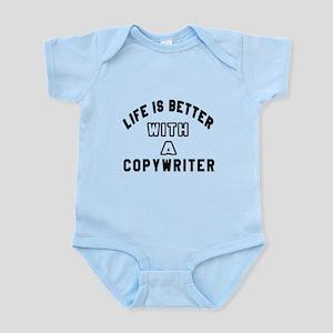 Copywriter Designs Infant Bodysuit