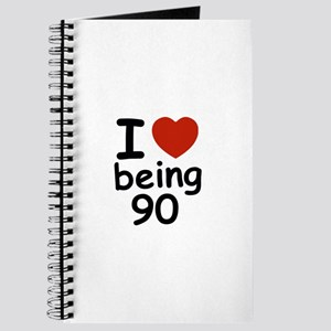 i love being 90 Journal