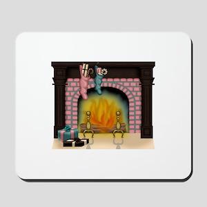 Christmas Blush Collection Mousepad