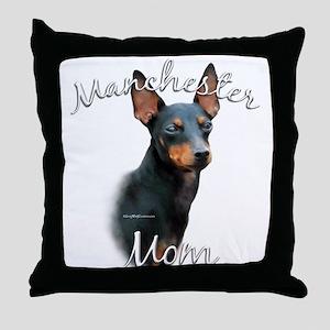 Manchester Mom2 Throw Pillow