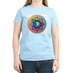 Many Paths to One God Women's Pink T-Shirt
