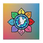 Many Paths to One God Tile Coaster