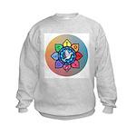 Many Paths to One God Kids Sweatshirt