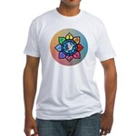 Many Paths to One God Fitted T-Shirt