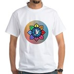Many Paths to One God White T-Shirt