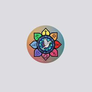 Many Paths to One God Mini Button