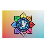 Many Paths to One God Postcards (Package of 8)