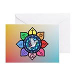 Many Paths to One God Greeting Cards (Pk of 10