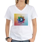 Many Paths to One God Women's V-Neck T-Shirt