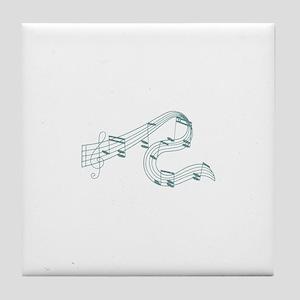 Christmas Blush Collection Tile Coaster