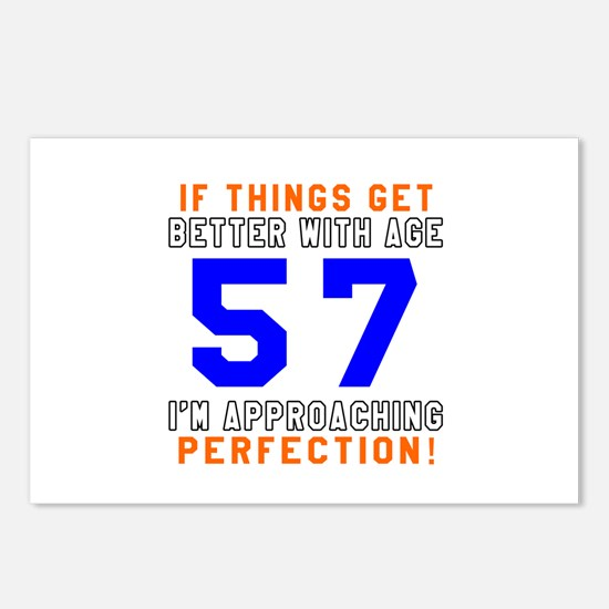 57 I'm Approaching Perfec Postcards (Package of 8)