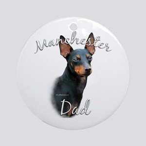 Manchester Dad2 Ornament (Round)