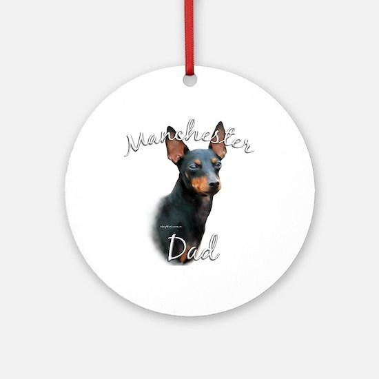 Manchester Dad2 Ornament (Round)