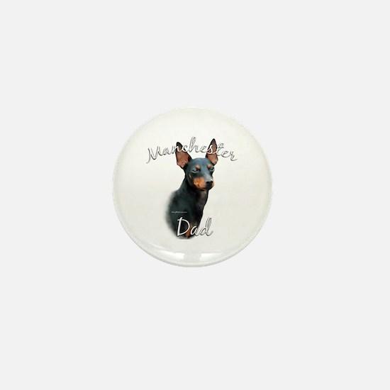 Manchester Dad2 Mini Button