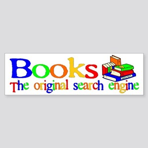 Books The Original Search Eng Bumper Sticker