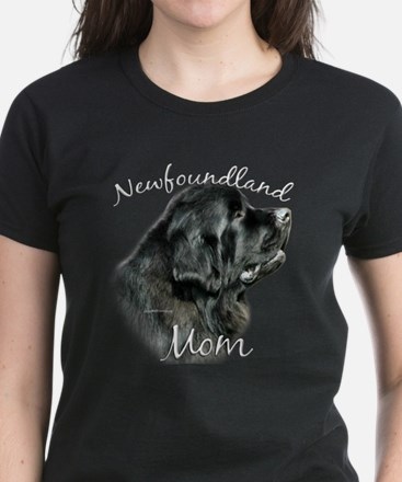 Newfie Mom2 Women's Dark T-Shirt