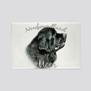 Newfie Mom2 Rectangle Magnet