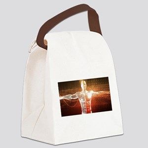 Medical Research o Canvas Lunch Bag
