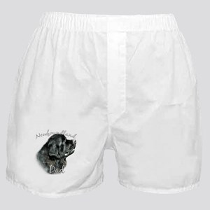 Newfie Dad2 Boxer Shorts