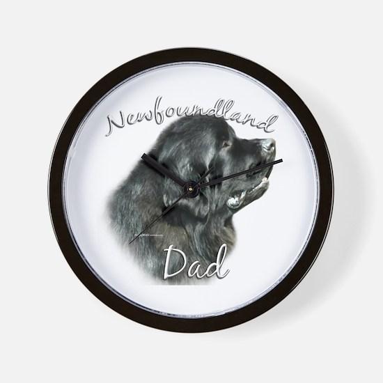 Newfie Dad2 Wall Clock