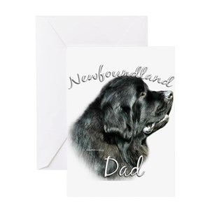The Dog Father Greeting Cards
